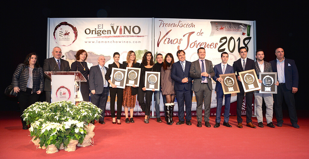 Clara Lago, Premio Solidario Jóvenes D.O. La Mancha 2018 en la categoría de Cine y Artes Escénicas